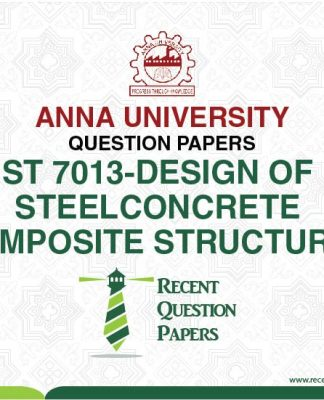 ST 7013 DESIGN OF STEEL CONCRETE COMPOSITE STRUCTURES