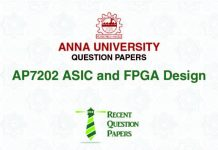 AP7202 ASIC AND FPGA DESIGN