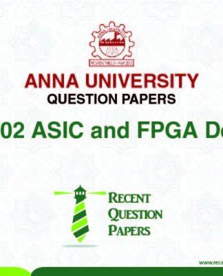 AP7202 ASIC AND FPGA DESIGN