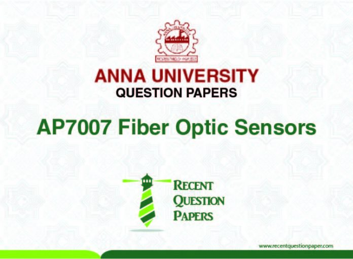 AP7007 FIBER OPTIC SENSORS