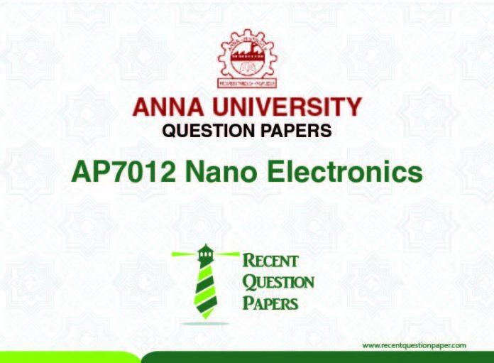 AP7012 NANO ELECTRONICS
