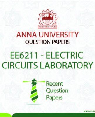 EE6211 ELECTRIC CIRCUITS LABORATORY