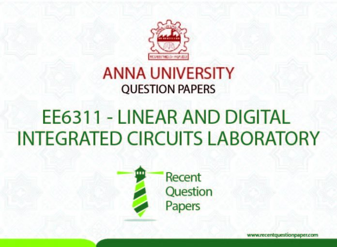 LINEAR AND DIGITAL INTEGRATED CIRCUITS LABORATORY