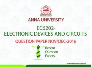 EDC QUESTION PAPER NOV/DEC 2016 Archives – Recent Question Paper