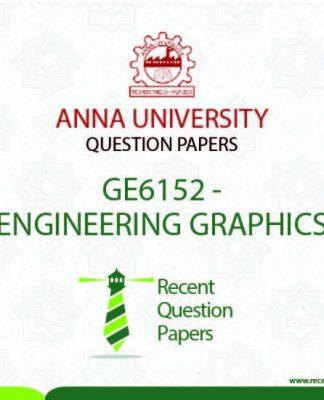GE6152 ENGINEERING GRAPHICS