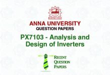 ANALYSIS AND DESIGN OF INVERTERS