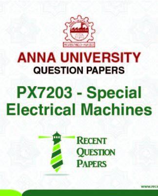 ANALYSIS OF ELECTRICAL MACHINES SYLLABUS