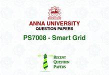 PS7008 SMART GRID