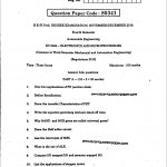 EC6464 ELECTRONICS AND MICROPROCESSOR 2 - Recent Question Paper
