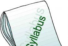 2013 REGULATION SYLLABUS