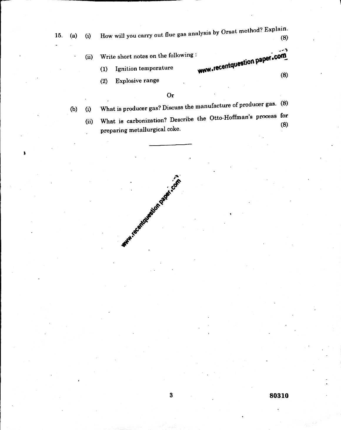 CY6251 ENGINEERING CHEMISTRY-II 2 - Recent Question Paper