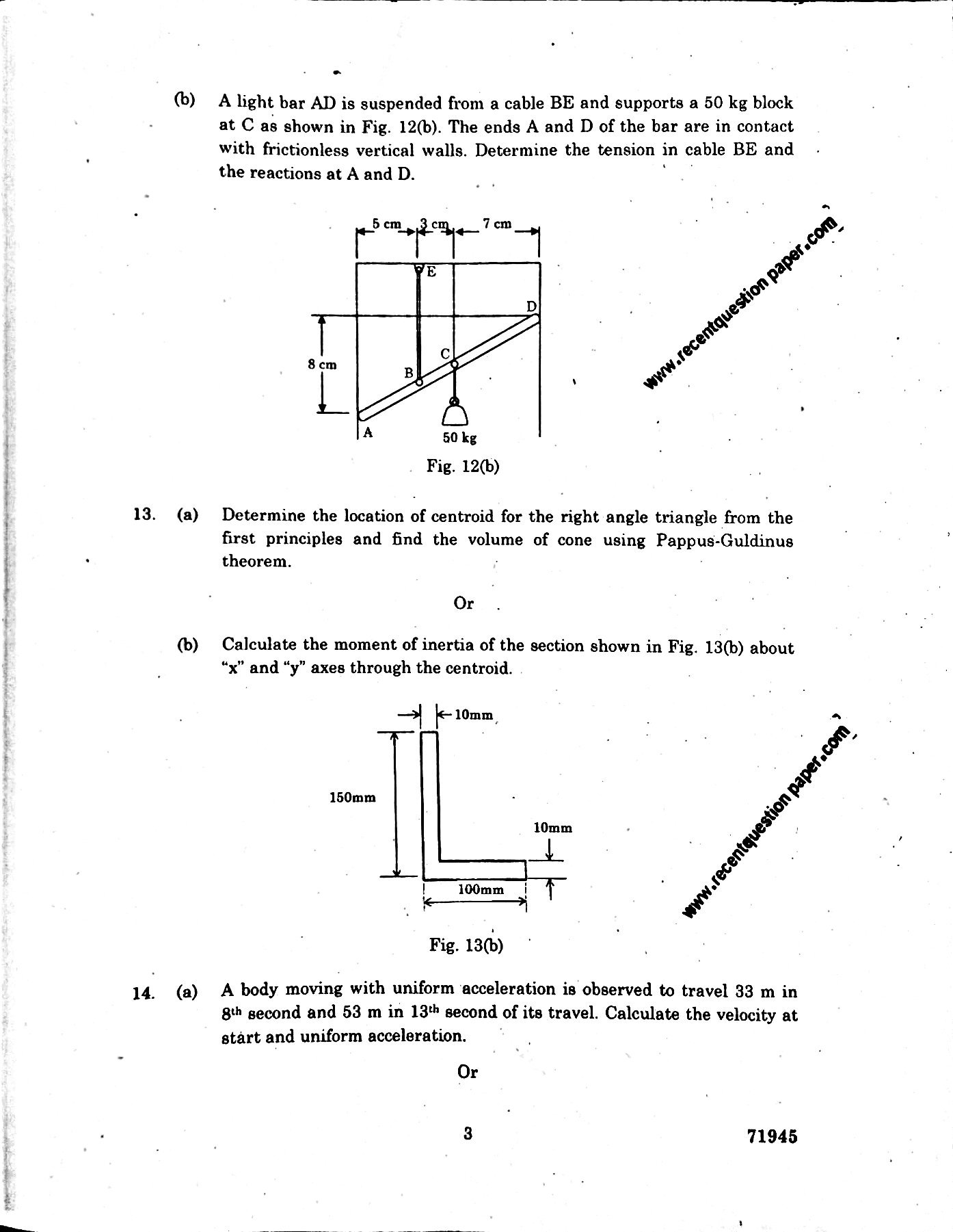 Ge6253 engineering mechanics aprilmay 2017 anna university search by students sciox Images